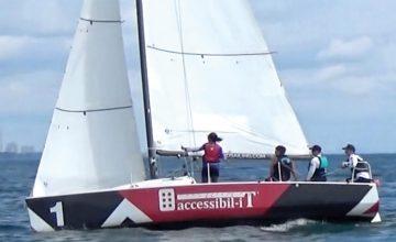 Accessibil-IT sponsors second annual Blind Sailing regatta